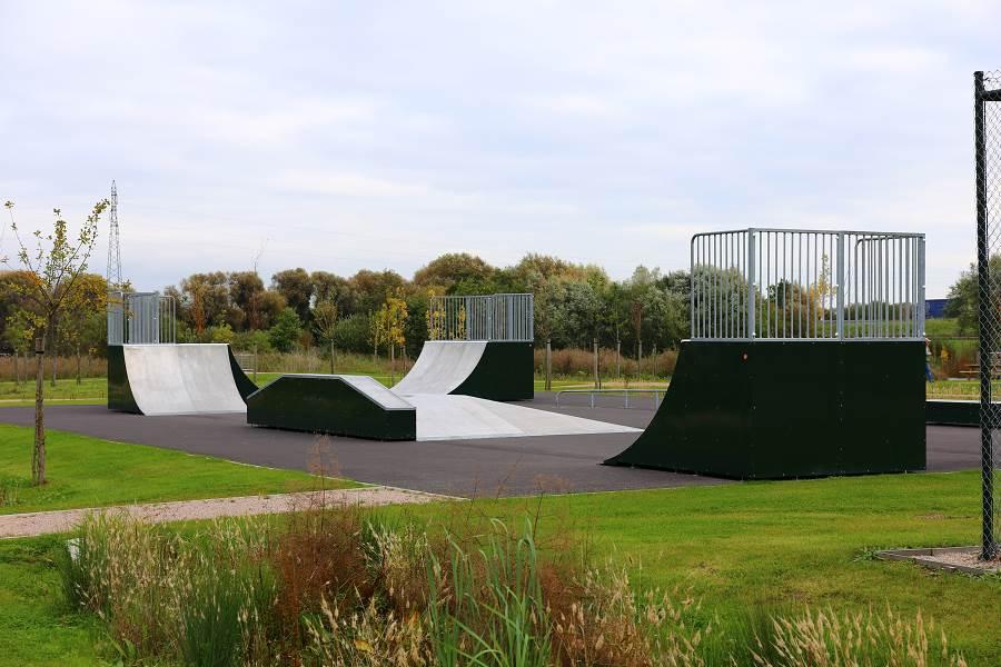 Skatepark de la Rivière-Saint-Sauveur (38)