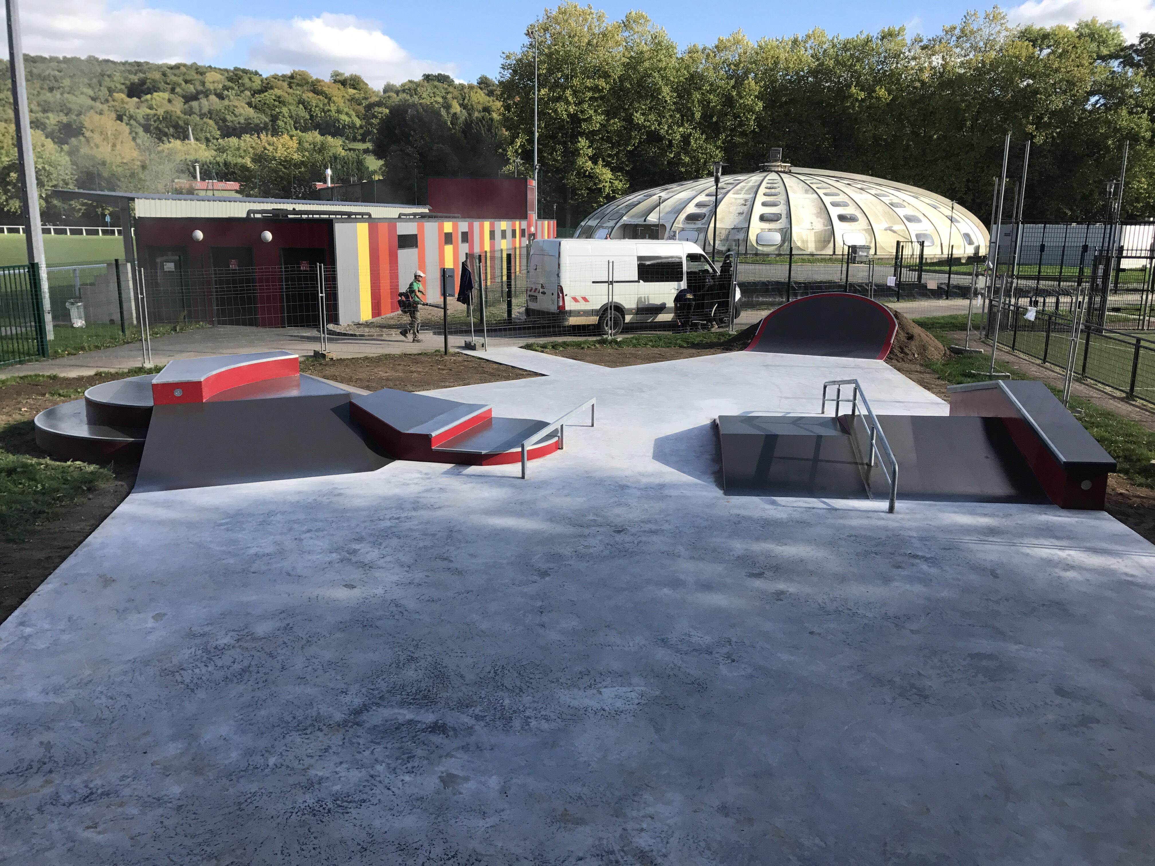 skatepark de Malaunay (76)