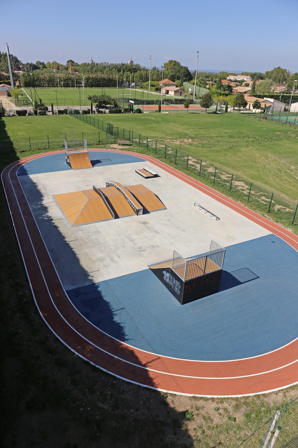 Skatepark de Pernes-les-Fontaines (84)