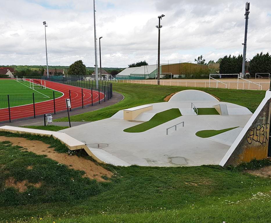 Skatepark de Thorigny-sur-Marne (77)