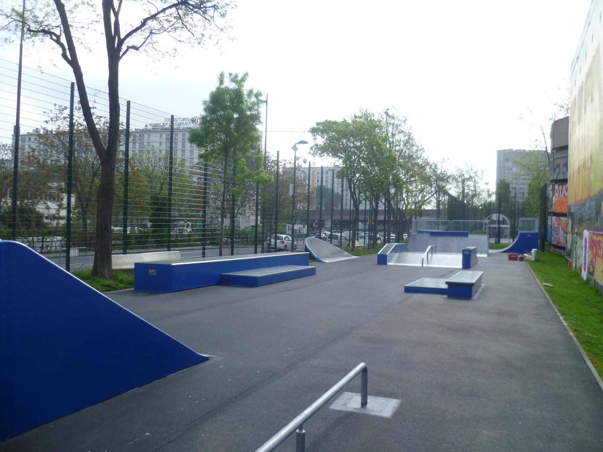 Skatepark de Vanves (92)